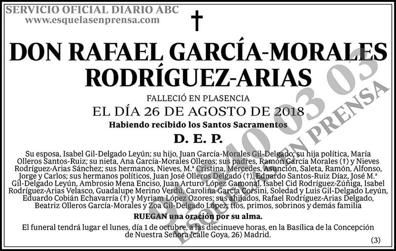 Rafael García-Morales Rodríguez-Arias